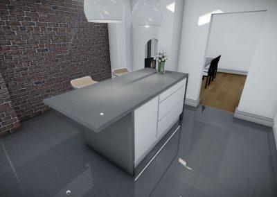 3d interior design in manchester dining room