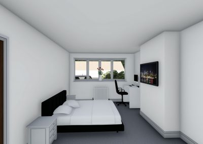 home extension 3d interior design in cheshire interior view