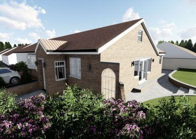 Detached Property – Extension, Fitted Kitchen & Bedroom Balcony