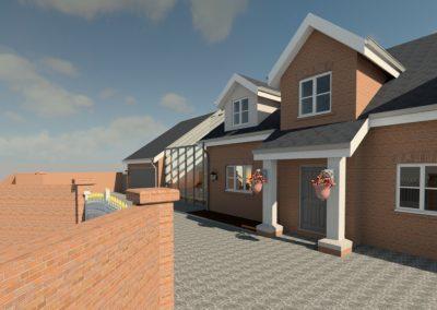 Detached Property – Modern Day Garage Conversion