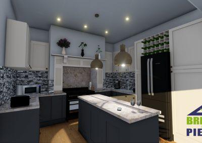 Semi Detached Property – Kitchen Extension