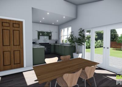 Semi Detached Property – Garage Conversion
